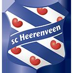 teamfoto voor SC Heerenveen