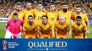 teamfoto voor Australië
