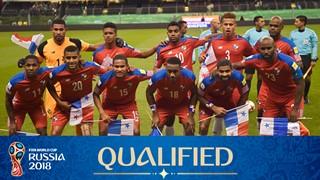 teamfoto voor Panama